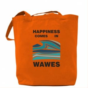 Torba Happiness comes in wawes