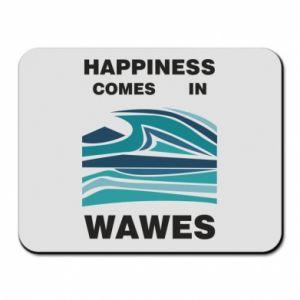 Podkładka pod mysz Happiness comes in wawes