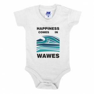 Body dla dzieci Happiness comes in wawes