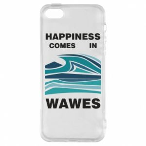 Etui na iPhone 5/5S/SE Happiness comes in wawes