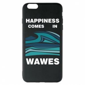 Etui na iPhone 6 Plus/6S Plus Happiness comes in wawes