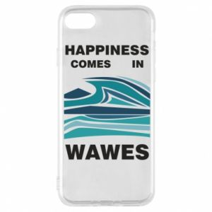 Etui na iPhone 8 Happiness comes in wawes