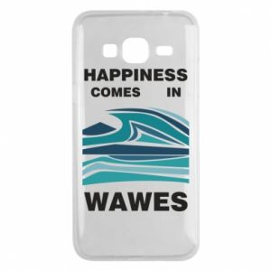 Etui na Samsung J3 2016 Happiness comes in wawes