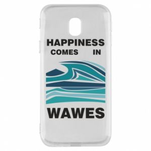 Etui na Samsung J3 2017 Happiness comes in wawes
