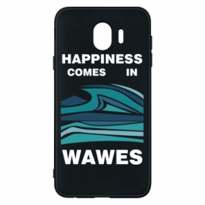 Etui na Samsung J4 Happiness comes in wawes