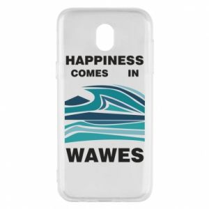 Etui na Samsung J5 2017 Happiness comes in wawes