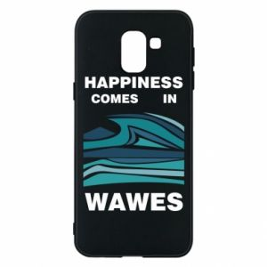 Etui na Samsung J6 Happiness comes in wawes