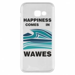 Etui na Samsung A5 2017 Happiness comes in wawes