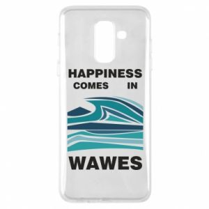 Etui na Samsung A6+ 2018 Happiness comes in wawes