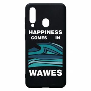 Etui na Samsung A60 Happiness comes in wawes