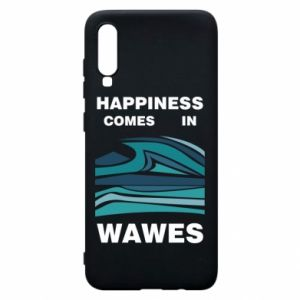Etui na Samsung A70 Happiness comes in wawes