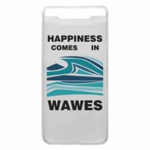 Etui na Samsung A80 Happiness comes in wawes