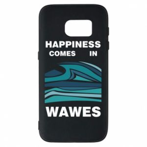 Etui na Samsung S7 Happiness comes in wawes