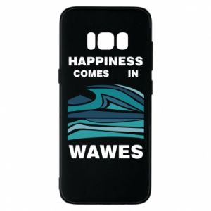 Etui na Samsung S8 Happiness comes in wawes