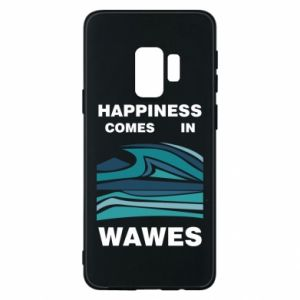 Etui na Samsung S9 Happiness comes in wawes