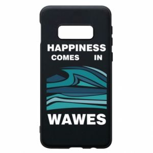 Etui na Samsung S10e Happiness comes in wawes