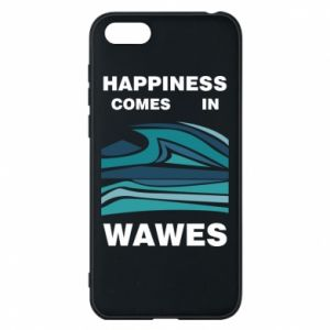 Etui na Huawei Y5 2018 Happiness comes in wawes