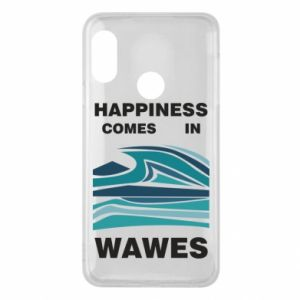 Etui na Mi A2 Lite Happiness comes in wawes