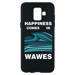 Etui na Samsung A6 2018 Happiness comes in wawes