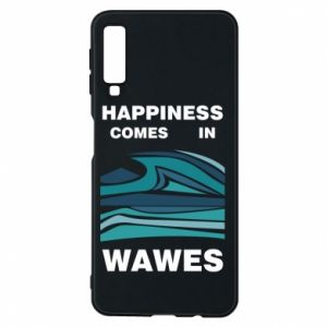 Etui na Samsung A7 2018 Happiness comes in wawes