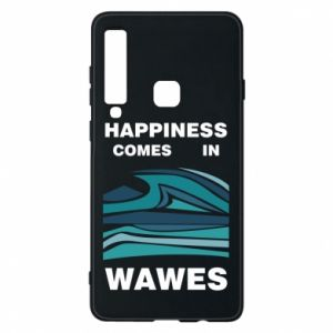 Etui na Samsung A9 2018 Happiness comes in wawes