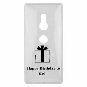 Sony Xperia XZ2 Case Happy Birthday to me