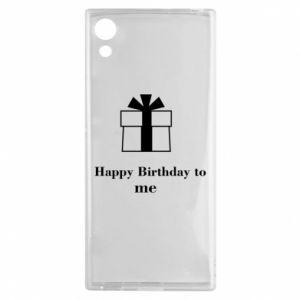 Sony Xperia XA1 Case Happy Birthday to me