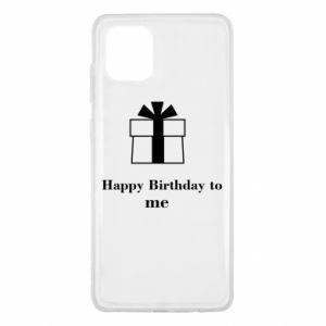 Samsung Note 10 Lite Case Happy Birthday to me