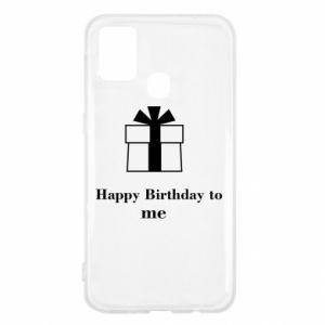 Samsung M31 Case Happy Birthday to me