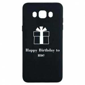 Samsung J7 2016 Case Happy Birthday to me