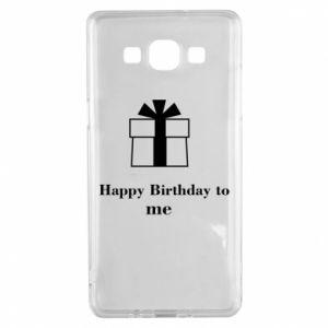 Samsung A5 2015 Case Happy Birthday to me