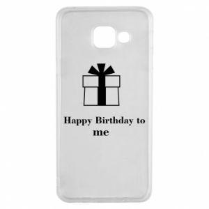 Samsung A3 2016 Case Happy Birthday to me