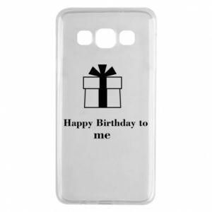 Samsung A3 2015 Case Happy Birthday to me