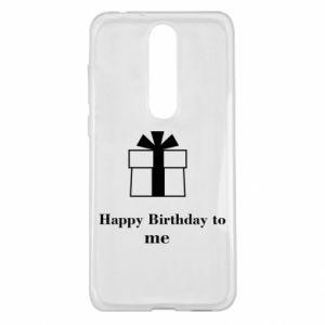 Nokia 5.1 Plus Case Happy Birthday to me