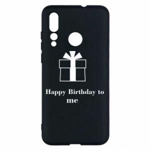 Huawei Nova 4 Case Happy Birthday to me