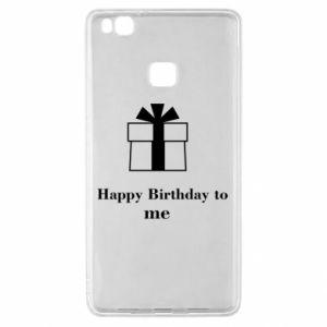 Huawei P9 Lite Case Happy Birthday to me