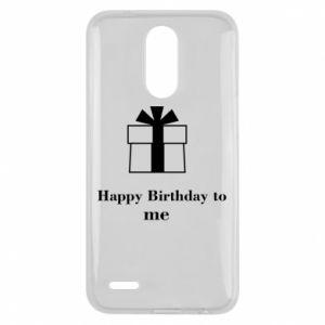 Lg K10 2017 Case Happy Birthday to me