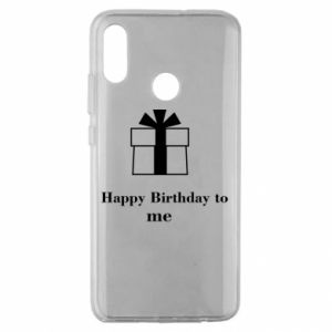Huawei Honor 10 Lite Case Happy Birthday to me