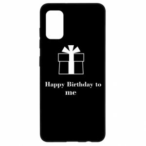 Samsung A41 Case Happy Birthday to me