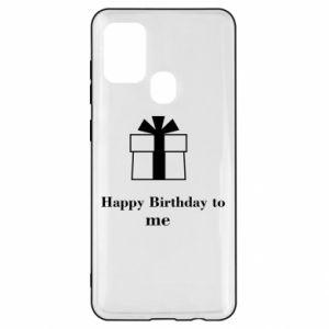 Samsung A21s Case Happy Birthday to me