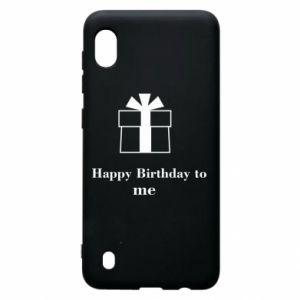 Samsung A10 Case Happy Birthday to me