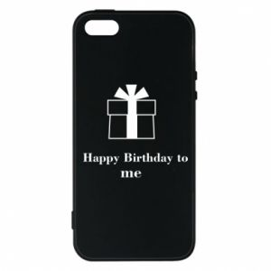 Etui na iPhone 5/5S/SE Happy Birthday to me
