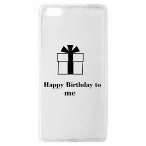 Huawei P8 Lite Case Happy Birthday to me
