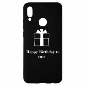 Huawei P Smart 2019 Case Happy Birthday to me