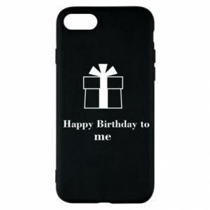 iPhone SE 2020 Case Happy Birthday to me