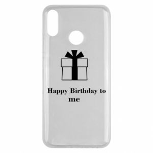 Huawei Y9 2019 Case Happy Birthday to me