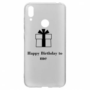 Huawei Y7 2019 Case Happy Birthday to me