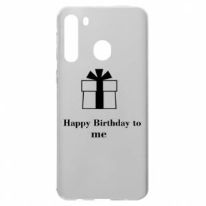 Samsung A21 Case Happy Birthday to me