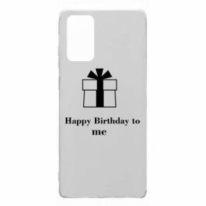 Samsung Note 20 Case Happy Birthday to me