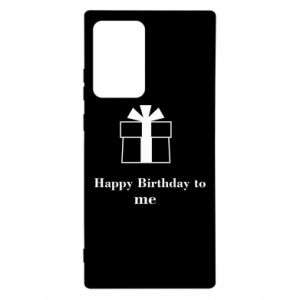 Samsung Note 20 Ultra Case Happy Birthday to me